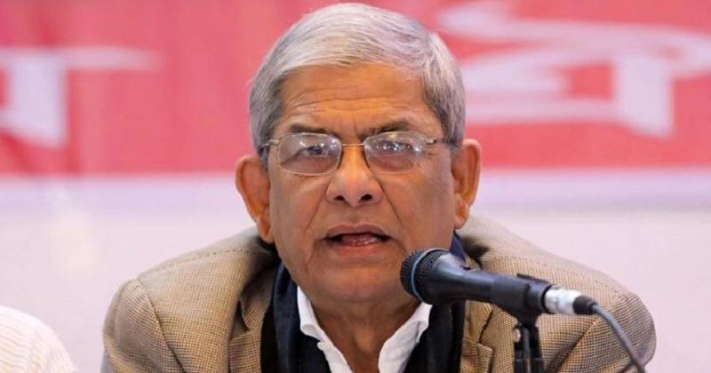 বিএনপি মহাসচিব মির্জা ফখরুল ইসলাম আলমগীর।    ফাইল ফটো